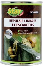 Répulsif escargots et limaces - 100 m² - 400 Grs - STAR