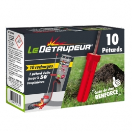 Recharge de 10 pétards - Le Détaupeur - MYRIAD