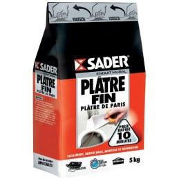Plâtre fin en sac 5 Kg - SADER