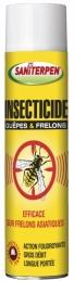 Insecticide Guêpes & Frelons - Longue portée - Action immédiate - 600 ml - SANITERPEN