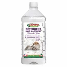 Détergent sols sans allergène - Fleur de coton - 1 L - SANITERPEN