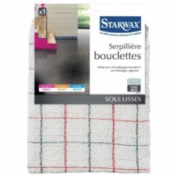 Serpillière bouclettes - Sols lisses - 50 cm - STARWAX