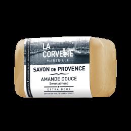 Savon de Provence - Amande douce - 100 Grs - LA CORVETTE