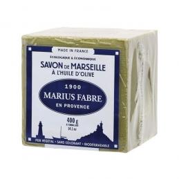 Savon de marseille à l'huile d'olive - Cube de 400 Grs - MARIUS FABRE