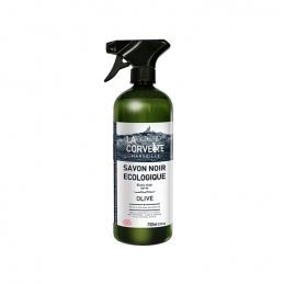 Savon noir liquide à l'huile d'Olive en spray - Ecologique - 750 ml - LA CORVETTE