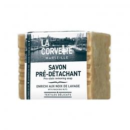 Savon pré-détachant enrichi aux noix de lavage - 250 Grs - LA CORVETTE