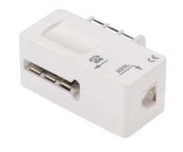 Filtre ADSL 2 + Prise téléphone - Femelle RJ11 - ERARD