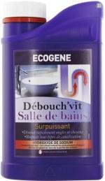 Déboucheur Soude Salle De Bain 1L - ECOGENE
