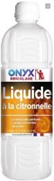 Liquide pour lampe à pétrole - Citronelle - 1 L - ONYX