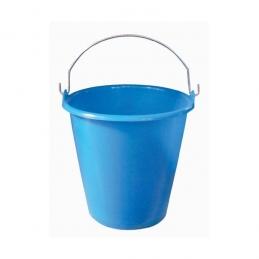 Seau ménager en palstique avec anse - 5 L - Bleu - ALUMINIUM & PLASTIQUE
