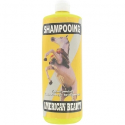 Shampoing insectifuge brillanteur pour chevaux - 1 L - AMERICAN BEAUTY