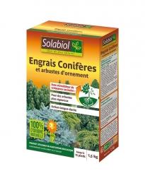 Engrais Conifères et arbustes d'ornement - 1.5 Kg - SOLABIOL