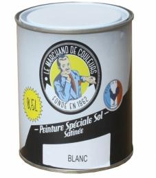 Peinture Spécial Sol - Satinée - Blanc - 0.5 L - ONIP