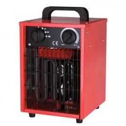 Radiateur de chantier - Soufflant - Portable - Rouge - 3000 Watts - VARMA