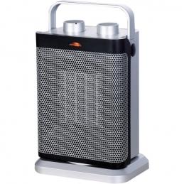 Radiateur soufflant et oscillant - 1800 Watts - Gris - PVM