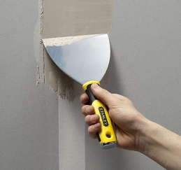 Spatule / couteau de platier en Inox - 15 cm - STANLEY