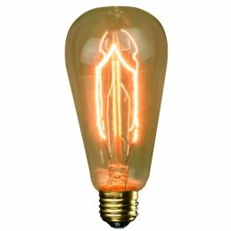 Ampoule vintage - ST64 - E27 - 40 Watts - FOXLIGHT