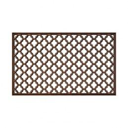 Tapis caoutchouc - ANTIQUE BRONZE - 45 cm x 75 cm