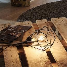 Lampe à poser - Métal noir - E27 - Tarbes - EGLO