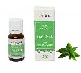Huile essentielle BIO de Tea Tree 100% pure et naturelle -10 ml - AROFLORA