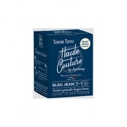 Teinture spécial machine à laver - 350 Grs - Bleu jean - HAUTE-COUTURE