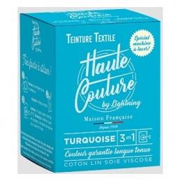 Teinture spécial machine à laver - 350 Grs - Turquoise - HAUTE-COUTURE
