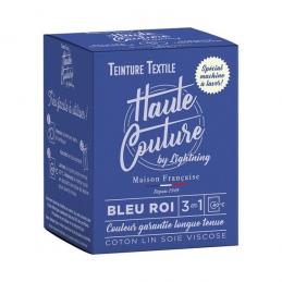 Teinture spécial machine à laver - 350 Grs - Bleu roi - HAUTE-COUTURE