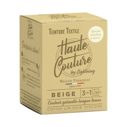 Teinture spécial machine à laver - 350 Grs - Beige - HAUTE-COUTURE
