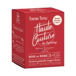 Teinture spécial machine à laver - 350 Grs - Bois de rose - HAUTE-COUTURE