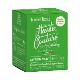 Teinture spécial machine à laver - 350 Grs - Citron vert - HAUTE-COUTURE