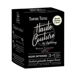Teinture spécial machine à laver - 350 Grs - Noir intense - HAUTE-COUTURE