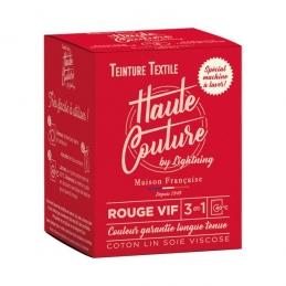 Teinture spécial machine à laver - 350 Grs - Rouge vif - HAUTE-COUTURE