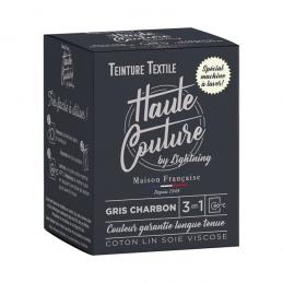 Teinture spécial machine à laver - 350 Grs - Gris Charbon - HAUTE-COUTURE