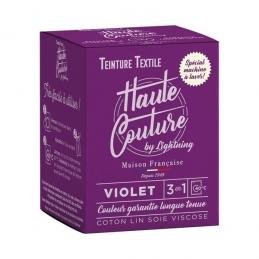 Teinture spécial machine à laver - 350 Grs - Violet - HAUTE-COUTURE