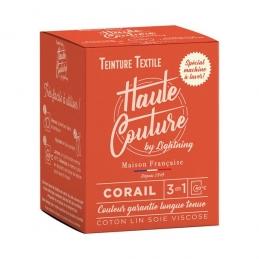 Teinture spécial machine à laver - 350 Grs - Corail - HAUTE-COUTURE