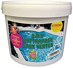 ECOGENE SOS RATTRAPAGE EAUX Vertes 5KG