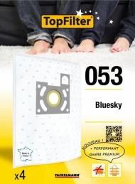 4 Sacs Aspirateur Premium - Bluesky - Model 053 - TOPFILTER