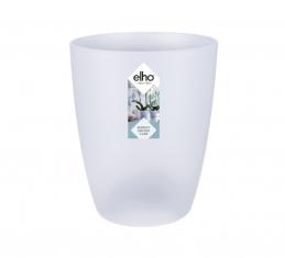 Pot haut spécial orchidée - Brussels - H 12.5 cm - Transparent - ELHO