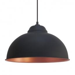 Suspension en acier - Noir et Cuivre - Truro 2 - E27 - EGLO