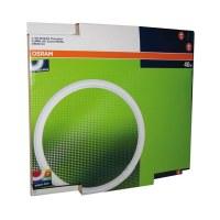 Tube fluocompact circulaire Luminux T9 C 40 W - Blanc industriel - 4 000 K - OSRAM