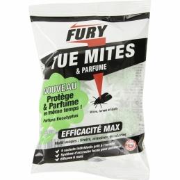 Grosses billes anti-mites - Parfume et protège - Eucalyptus - 5 sachets - FURY