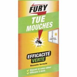 Adhésif anti-mouches - Tue mouches - 4 stickers - FURY