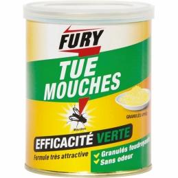 Tue mouches - Appât en granulés - Plus attractif - 400 Grs - FURY
