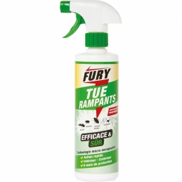 Tue rampants - Efficace et sur - Action rapide - 500 ml - FURY