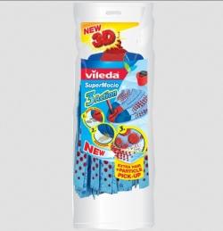 Recharge pour balai espagnol - SuperMocio 3 Action - VILEDA